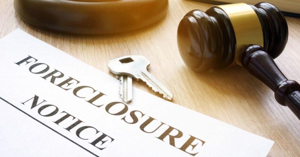 foreclosure notice form