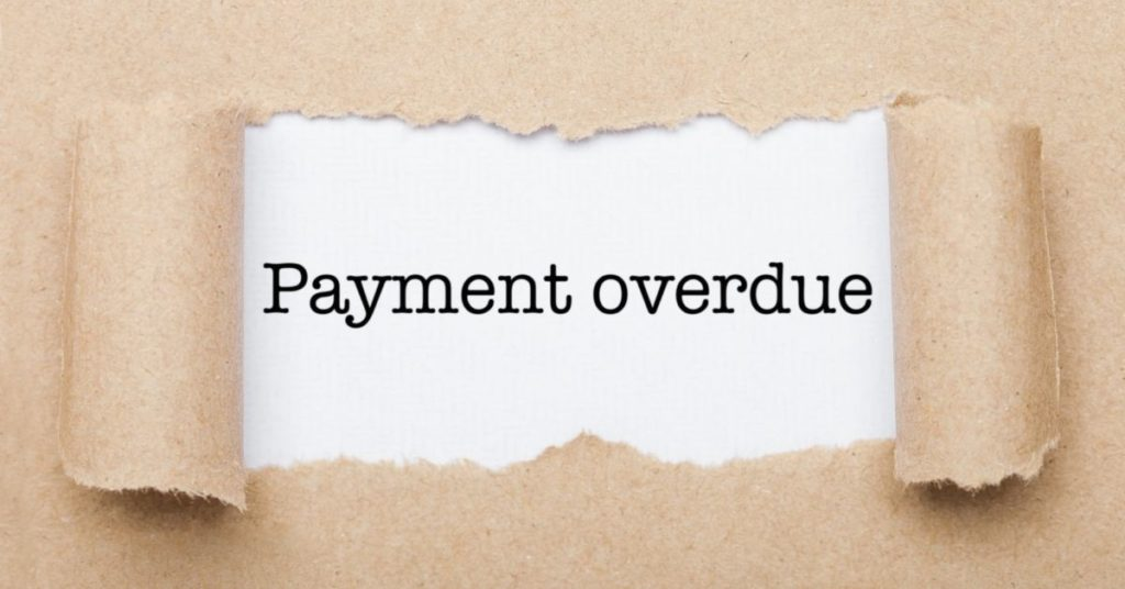 loan payment overdue notice