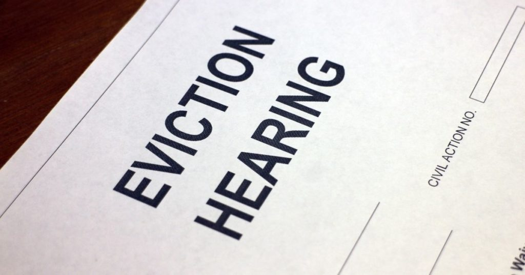 eviction form